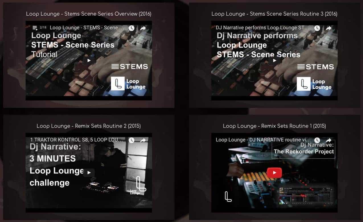 Homepage - Dj Narrative